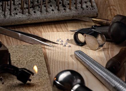 Guldsmed Johan Veje - Workshop - ædelsten - slibninger
